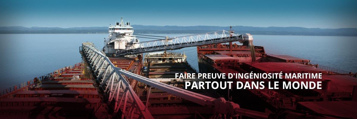 Groupe CSL - Faire preuve d'ingéniosité maritime partout dans le monde