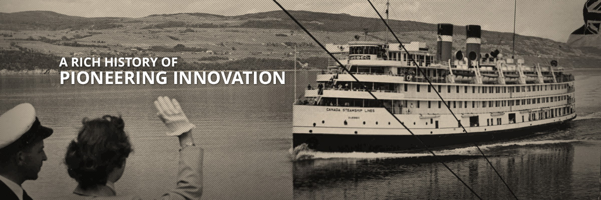 A rich history of pioneering innovation