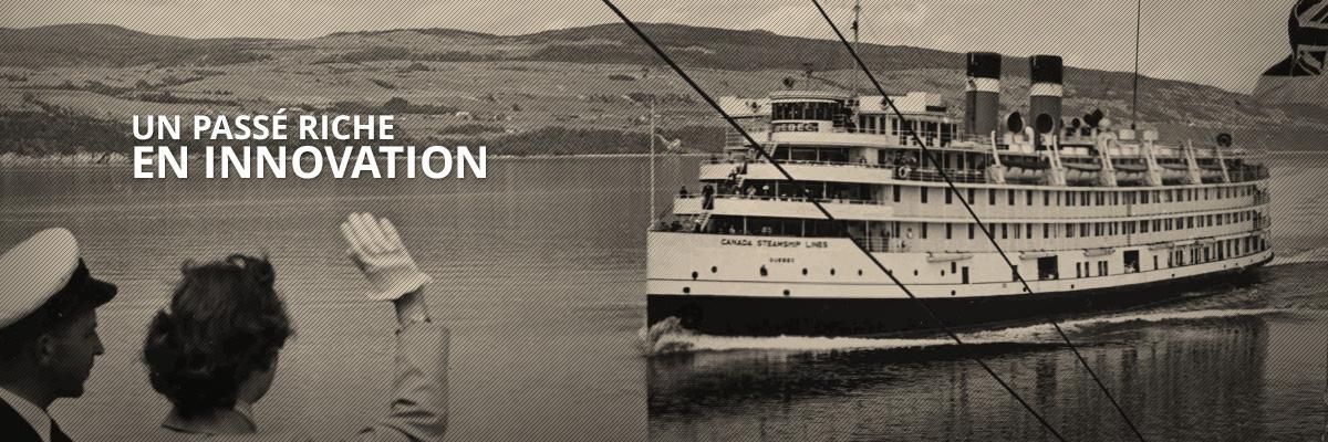 Un passé riche en innovation