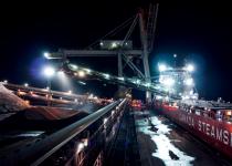 CSL MV Baie Comeau Iron Ore Unloading Operation
