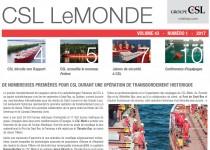 L'édition novembre 2017 de CSL le Monde